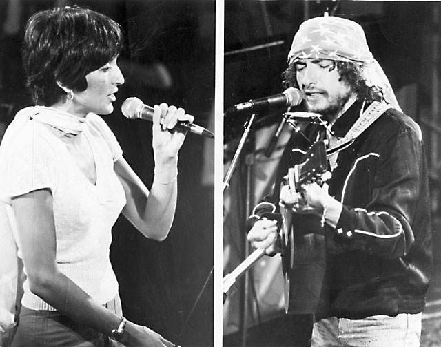 Bob Dylan And Joan Baez In Concert At Hughes Stadium May 23 1976 Fort Collins Images